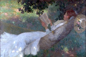 A Love Story, Phillips Fox , 1903, Ballarat Fine Art Gallery
