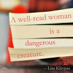 a well read woman
