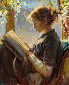 Daniel f.Gerhartz, The garden window