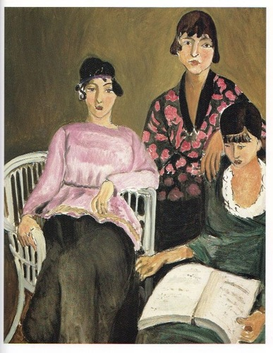 Henri Matisse, The three sister, 1917, Musée de l'Orangerie