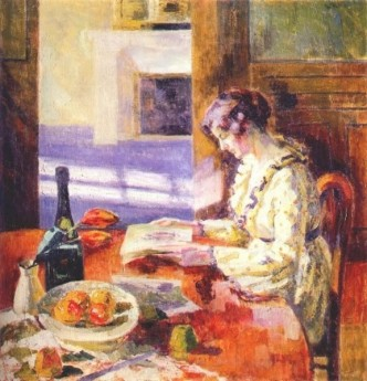 Louis Ritman woman reading