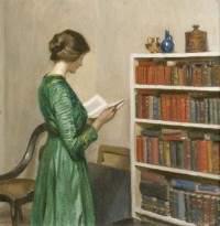 The reader by Harold Knight circa 1910