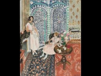 Il pavimento moresco 1921 Matisse