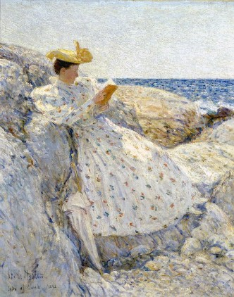 Frederick Childe Hassam - Woman Reading