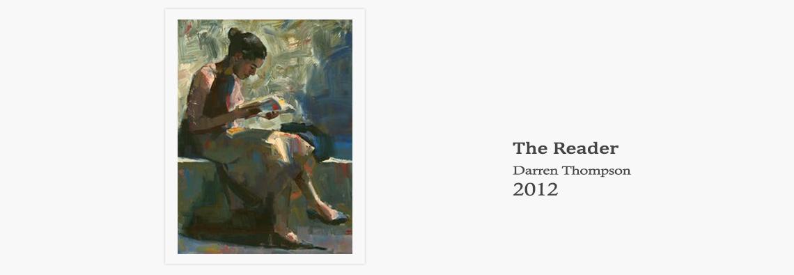 Darren Thompson the Reader 2012